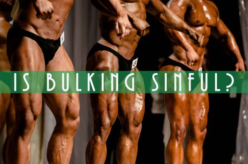 bodybuilders on stage