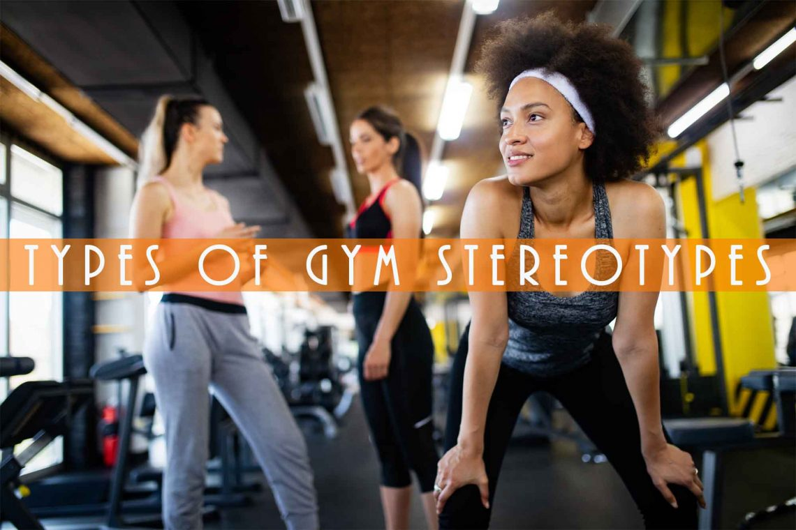 women gathered at the gym